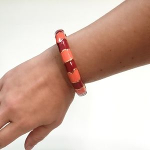 Colorblock Resin Bracelet